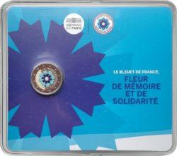 2 euro France 2018 Bleuet coincard obv