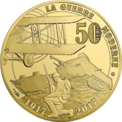 France 2017. 50 euro. Grande Guerre
