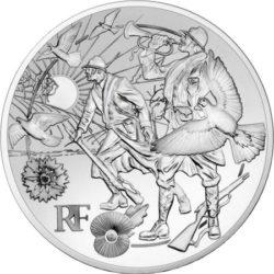 France 2018 10 euro la fin de la guerre