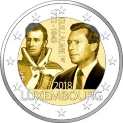 2 euro Lux 2018
