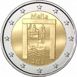 2 euro Malta 2018 Cultural heritage