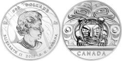 Canada 2016 $500 Argillite Chest