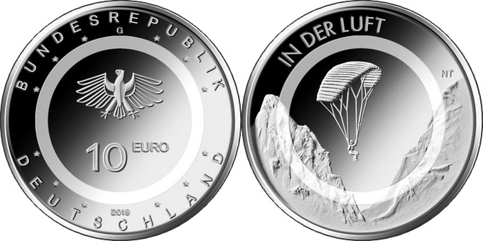 Germany 2019 10 euro