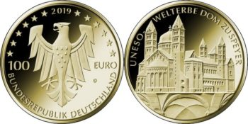 Germany 2019 100 euro UNESCO