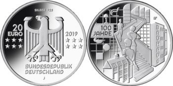 Germany 2019 20 euro Bauhaus