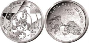 Belgium 2019 10 euro Bruegel