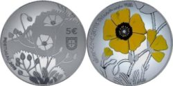 Portugal 2019 5 euro Tuberaria Major