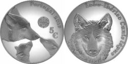 Portugal 2019 5 euro Wolf