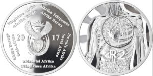 South Africa 2017 2 Rand Heart
