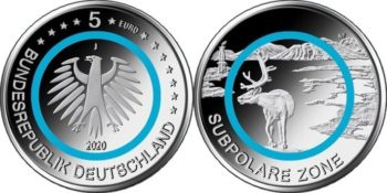 Germany 2020 5 euro
