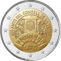 2 euro Andorra 2019 Council