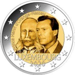 2 euro Luxembourg 2020 Henri