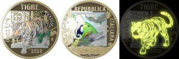 Italy 2020 5 euro Tigre