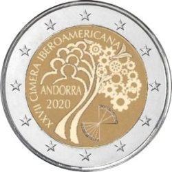 2 euro Andorra 2020 Summit