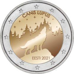 Эстонское национальное животное — волк